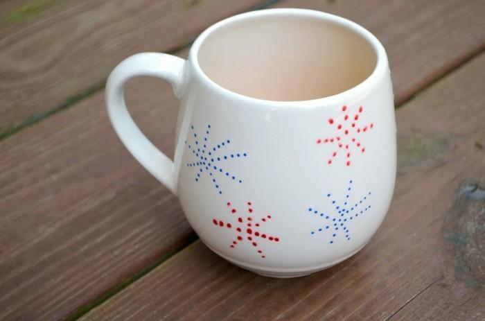 sterne zeichnen und kaffee trinken