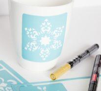 Wenn Tassen bemalen, dann richtig! – Einfache Anleitung und 35 inspirierende Ideen!