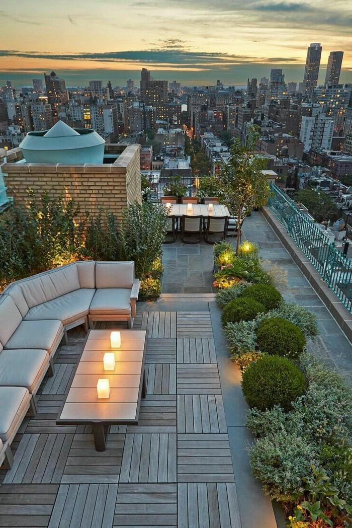 terrassengestaltung ausgefallene ideen für eine romantische atmosphäre