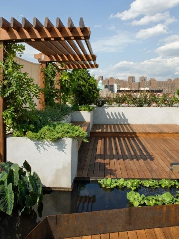 Die Dachterrasse - Schaffen Sie Eine Wohlfühloase Auf Dem Dach! Terrasse Gestaltung Dach Planen