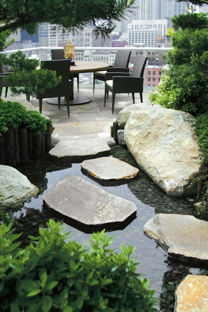 terrassengestaltung terrasse im japanischen stil