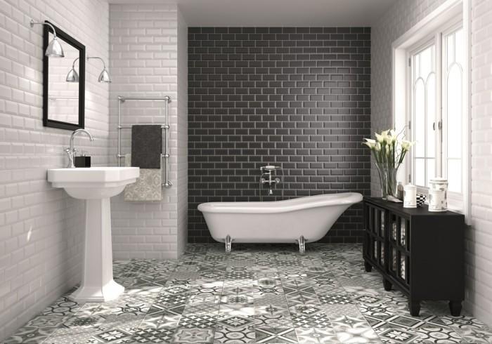 Bad einrichten - Fliesen-Trends in der Badezimmereinrichtung für 2017!