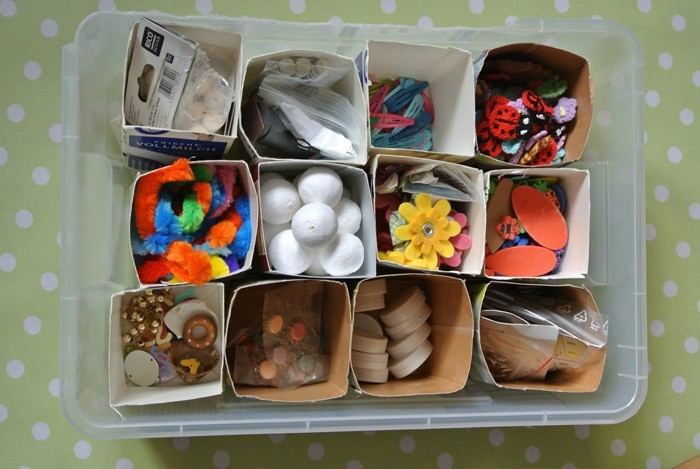 upcycling ideen recycling basteln tetrapack büro tetrapack ordnung