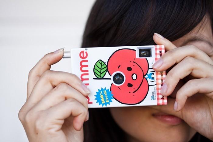 upcycling ideen recycling basteln tetrapack kamera
