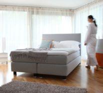 Der Boxspringbetten Ratgeber: Aufbau, Vor- und Nachteile dieses Bettsystems