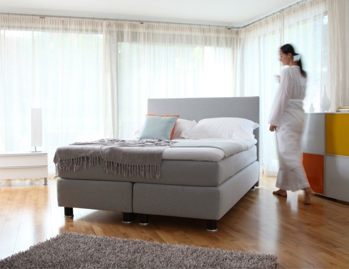 velda metropolitan boxspringbett für optimalen schlafkomfort