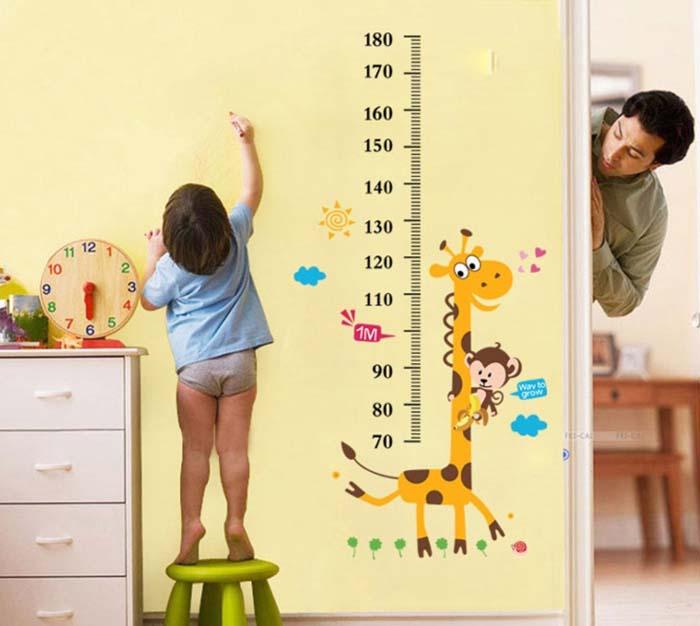 wangestaltung wandtattoo wandkalender meter