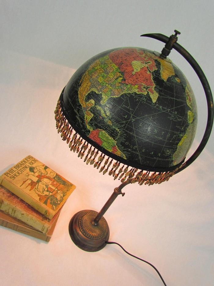 DIY moebel upcycling ideen diy inspiration aus alt macht schreibtisch selber machen diy lampenschirm