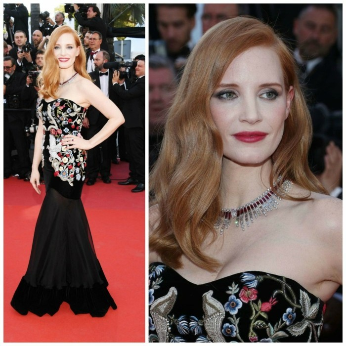Jessica Chastain idealer umgang mustern