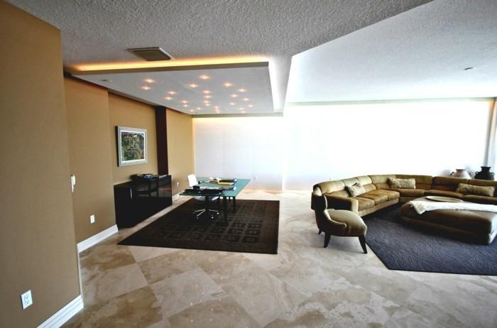 beleuchtung wohnzimmer bereiche absondern