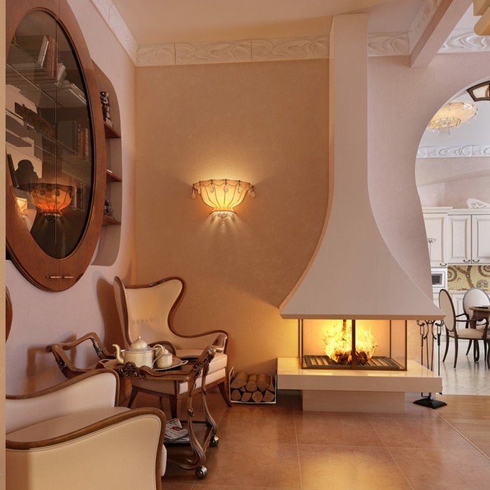 beleuchtung wohnzimmer erholungsecke gemütlich gestalten