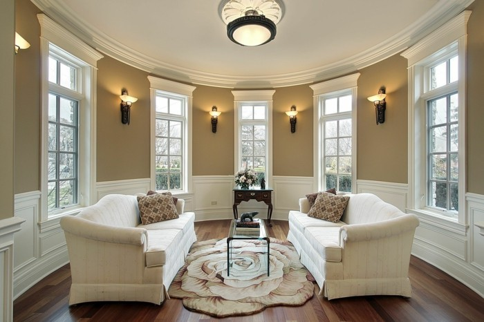 beleuchtung wohnzimmer wandleuchten und deckenleuchte