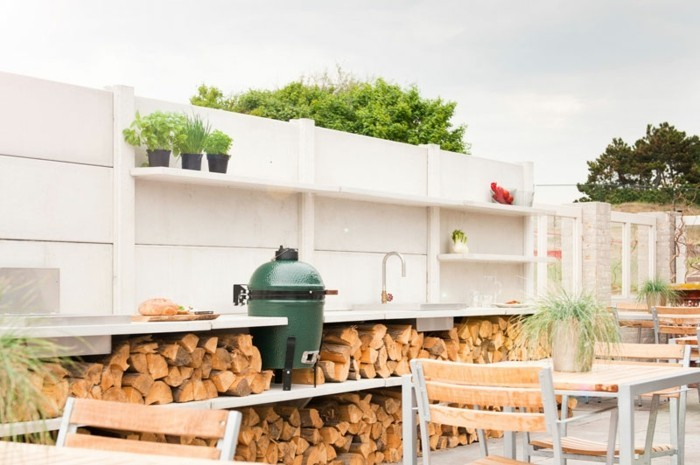 Outdoor Küche Mit Zapfanlage : Outdoor küche und gartenküche varianten materialien und anbieter