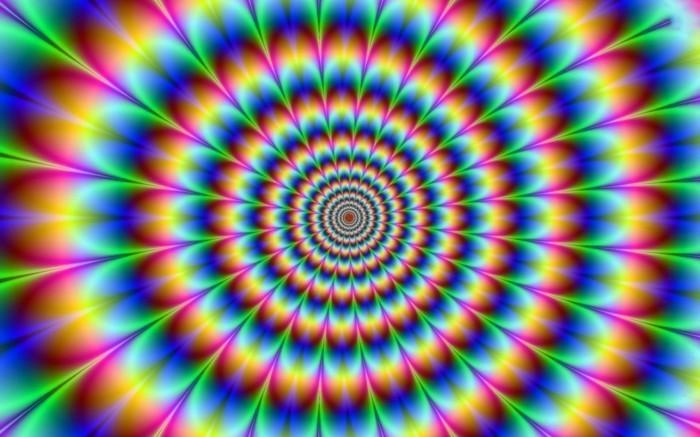 bilder mit optischen täuschungen