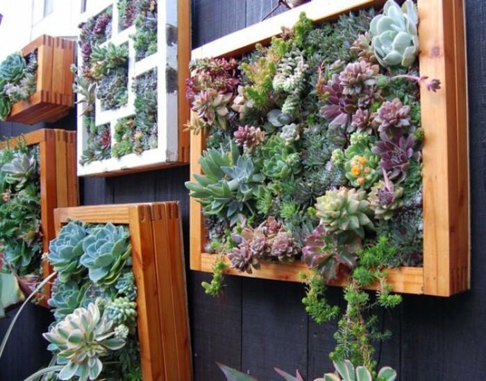 deko ideen kreative ideen für den gartenzaun