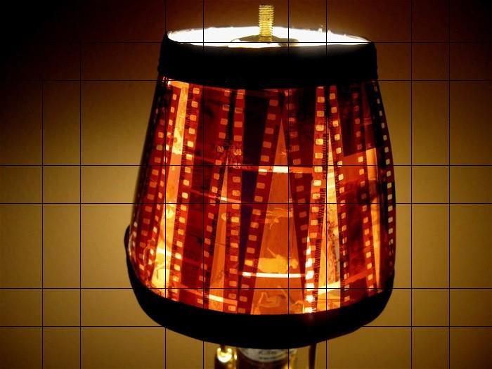 diy lampenschirm punkten-jute negativ