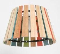 35 abgefahrene Upcycling Ideen, wie man günstig einen DIY Lampenschirm umsetzt