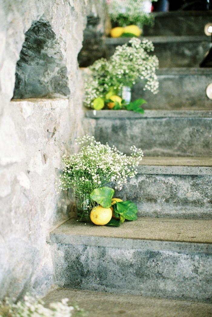 garten gestalten dekoideen mit pflanzen für die gartentreppen
