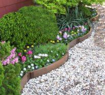 Gartengestaltung mit Dekokies garantiert einen schicken und aufgeräumten Look!