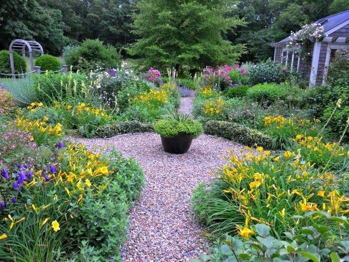 Bauerngarten naturn he ist jetzt angesagt for Gartenideen mit kies