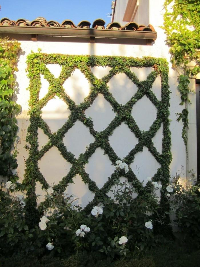 gartenideen mit spalier schöne dekoideen für den garten