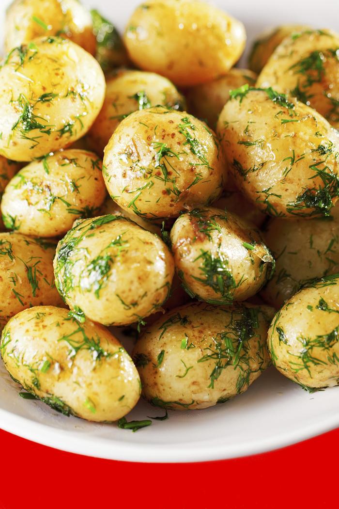 gemüse grillen gegrillte kartoffel
