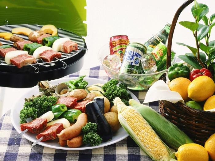 gemüse grillen paprika zucchini vorbereiten