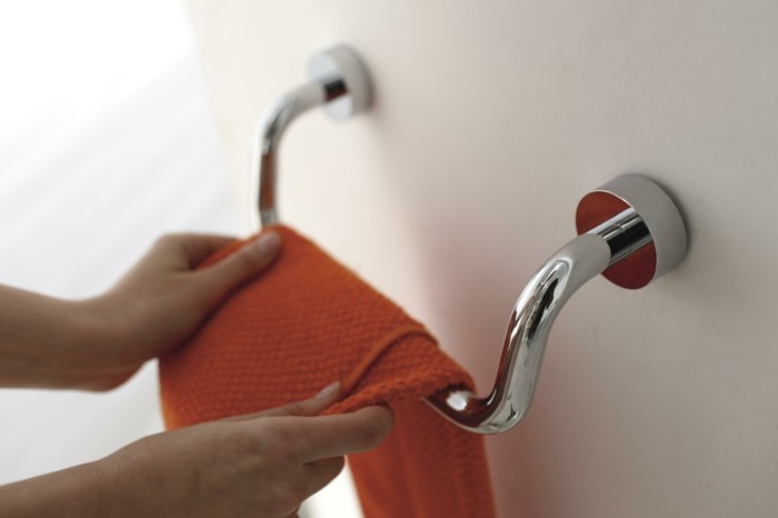 handtuchhalter chrom ohne bohren badaccessoires