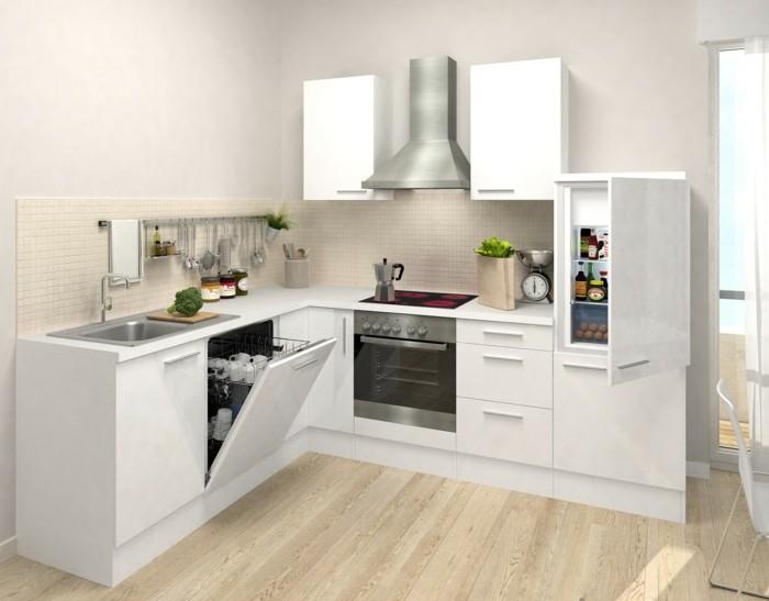 küche l-form kleine aber funktionale küche