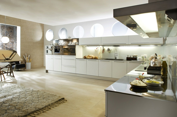 küche l-form stilvolle küchengestaltung mit abgetrenntem essbereich