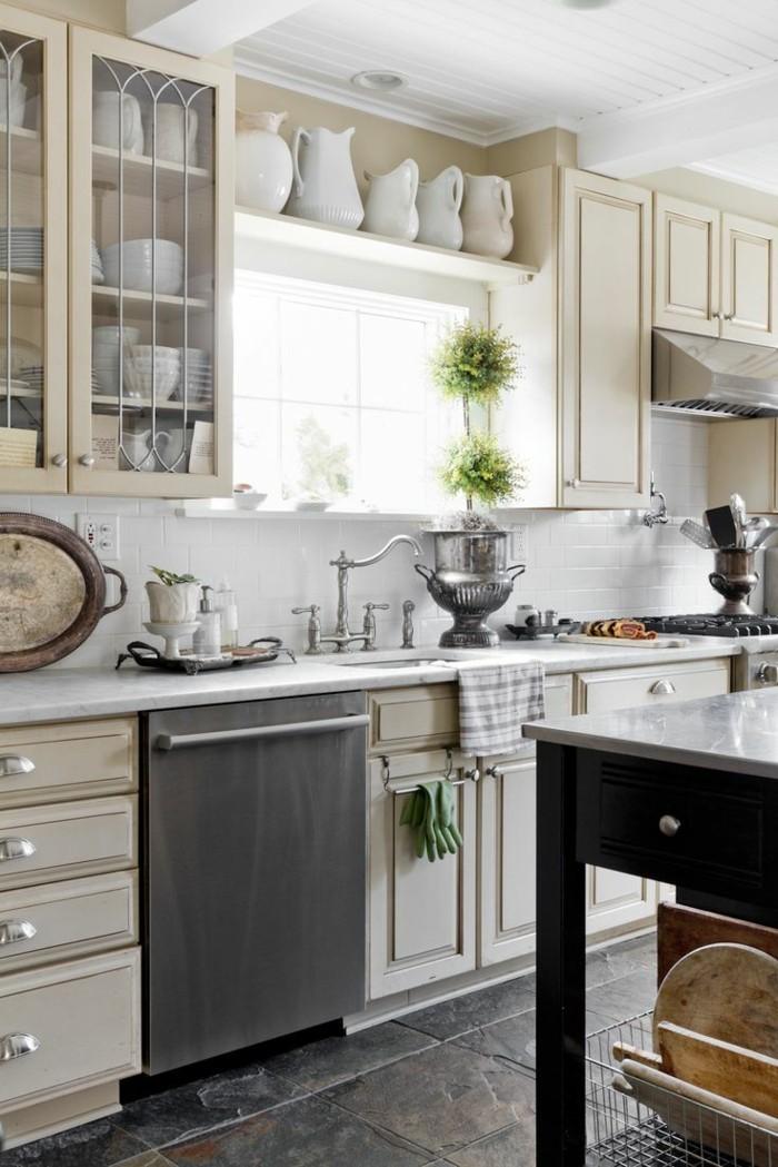 küchengestaltung küchenschränke und offene küchenregale