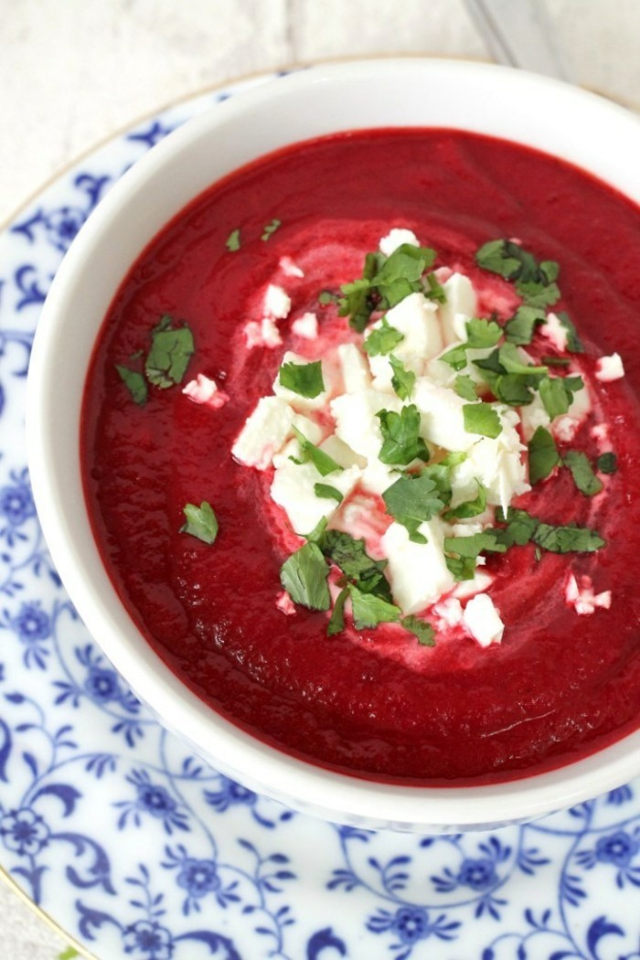 karoten rote bete partysuppe zubereiten
