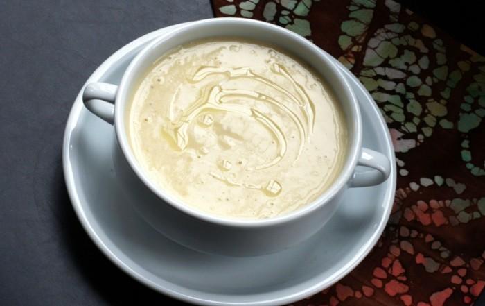 karotten rübe creme suppe