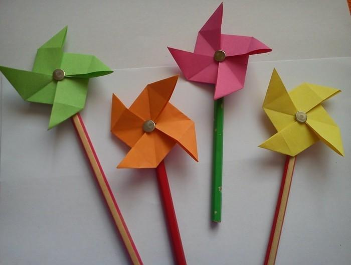 kreativ basteln lustige dekoideen aus papier