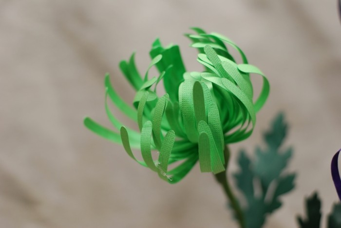 kreativ basteln schöne blumen aus papier basteln für die wohnungsdekoration