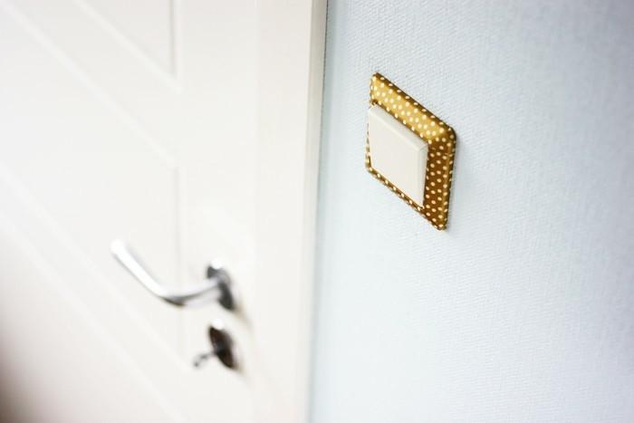 lichtschalter selber dekorieren washi tape ideen