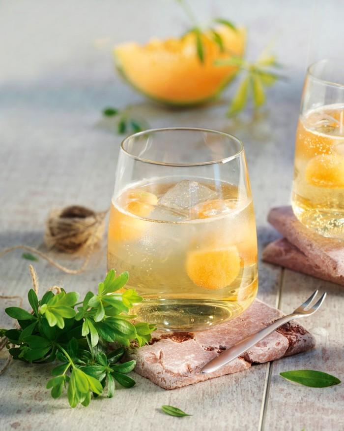limonade selber machen sommer rezepte früchtige eiswürfel