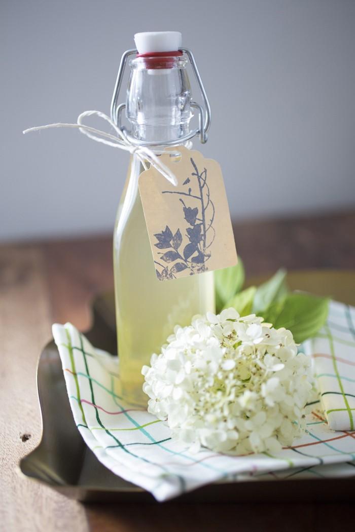 limonade selber machen sommer rezepte holunder blüten