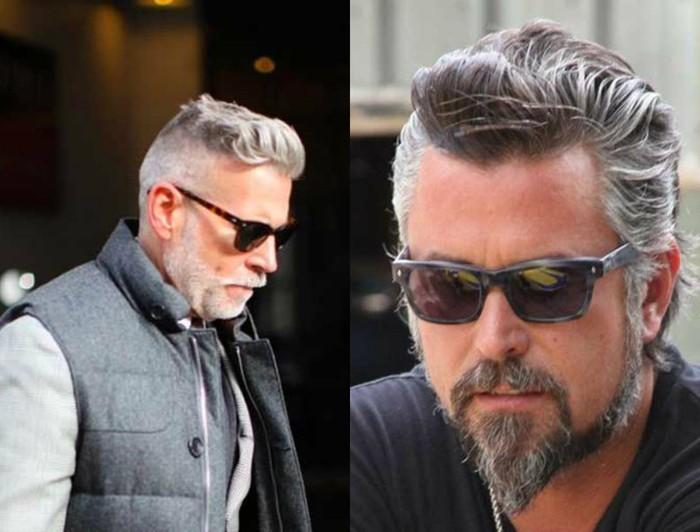 männerfrisuren 2017 graue haare