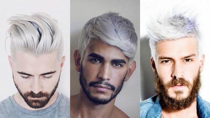 männerfrisuren 2017 lockige haare weiß