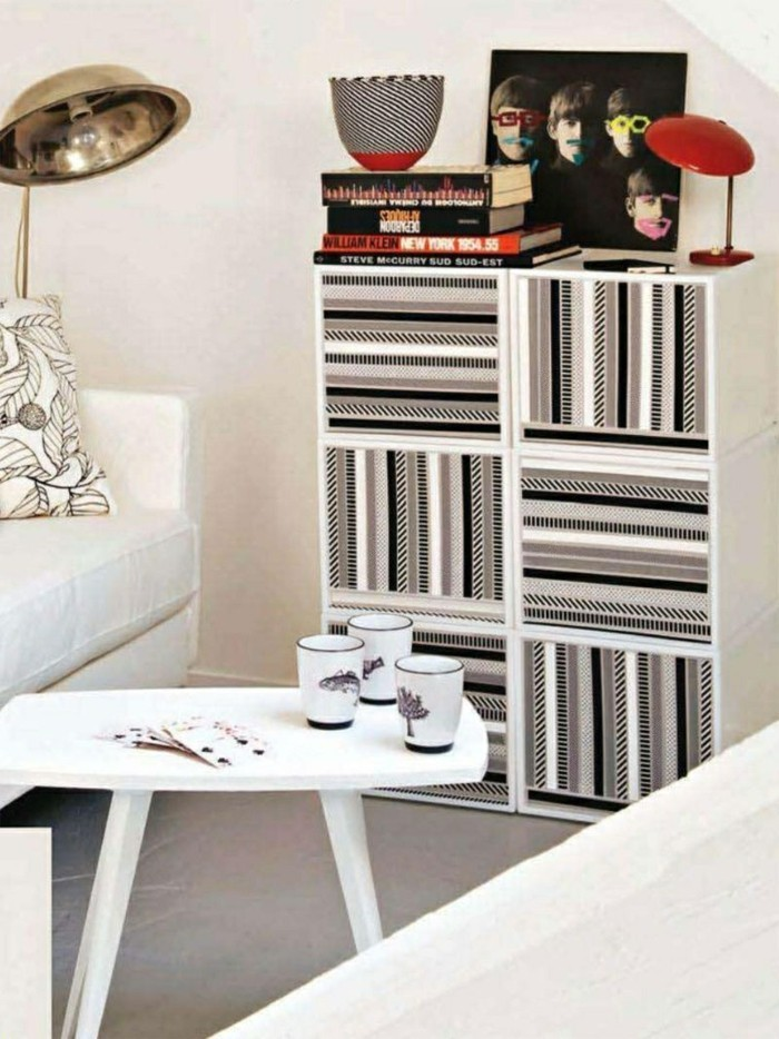 99 washi tape ideen was k nnen sie damit dekorieren. Black Bedroom Furniture Sets. Home Design Ideas
