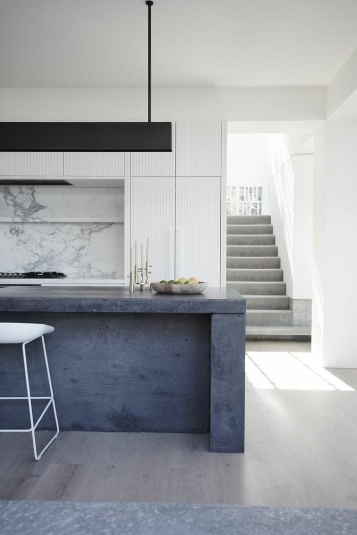 moderne küche in minimalistischem stil