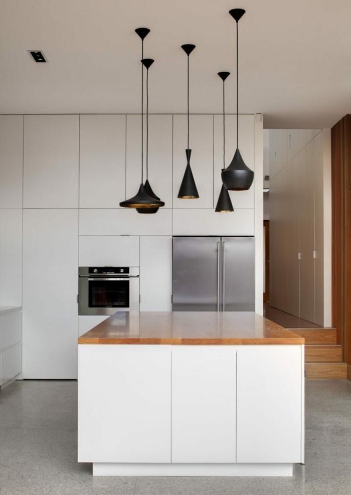 moderne küche mit minimalistischem look