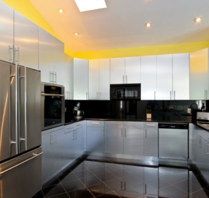 Moderne Küche In U Form Kochkomfort Inmitten Von Modernen Designs