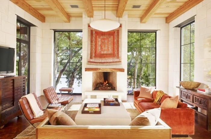 modernes wohnen in mexiko stil frisches wohnzimmer gestalten