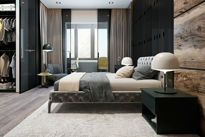 modernes wohnen 110 ideen wie sie modern wohnen. Black Bedroom Furniture Sets. Home Design Ideas