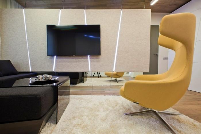 modernes wohnen moderne und funktionale möbel und frische farbkombinationen