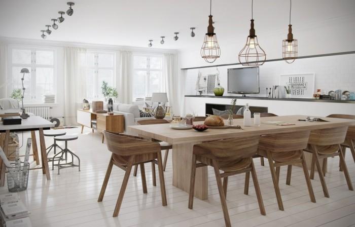 Modernes Wohnen Moderne Wohnung In Skandinavischem Stil Modernes Wohnen U2013  110 Ideen, Wie Sie Modern Wohnen | Einrichtungsideen ...