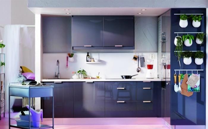 modulküche die kleine küchetrendig und funktional gestalten