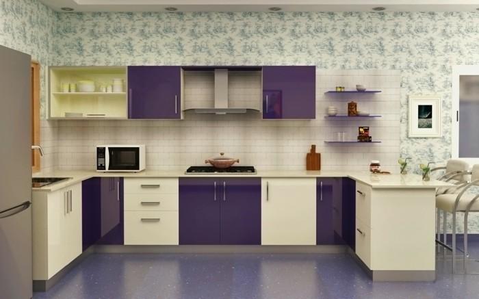 modulküche moderne köchenlösungen und weiße metro fliesen